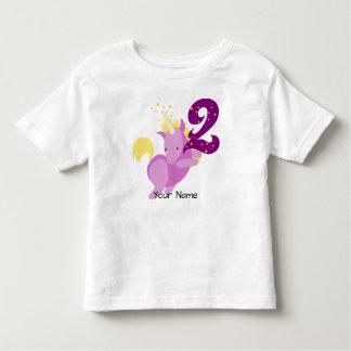 Camiseta De Bebé Cumpleaños de la magia del unicornio 2do