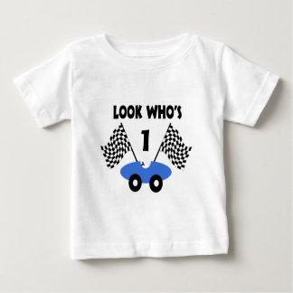 Camiseta De Bebé Cumpleaños del coche de carreras