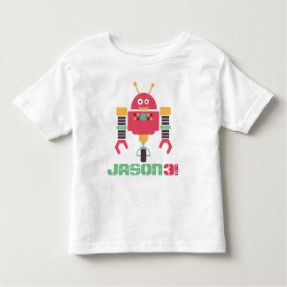 Camiseta De Bebé Cumpleaños del robot