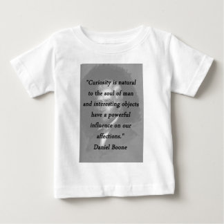 Camiseta De Bebé Curiosidad - Daniel Boone