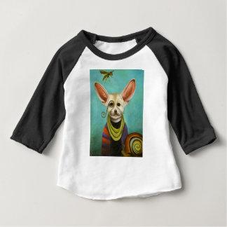 Camiseta De Bebé Curioso como Fox de A