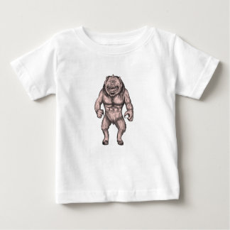 Camiseta De Bebé Cyclops que colocan el tatuaje