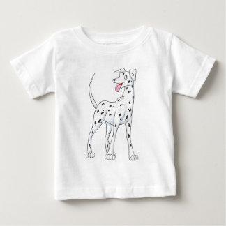 Camiseta De Bebé Dalmatian feliz
