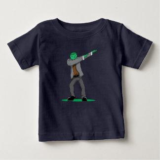 Camiseta De Bebé danza divertida franca del lenguado de Halloween