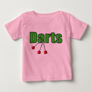 Camiseta De Bebé Dardos con 3 dardos