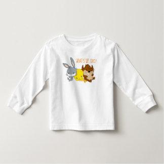Camiseta De Bebé ™ de Chibi BUGS BUNNY, TWEETY™, y TAZ™