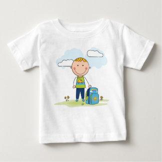Camiseta De Bebé De nuevo a escolar