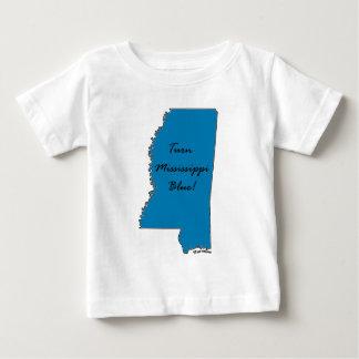 Camiseta De Bebé ¡Dé vuelta a Mississippi azul! ¡Orgullo