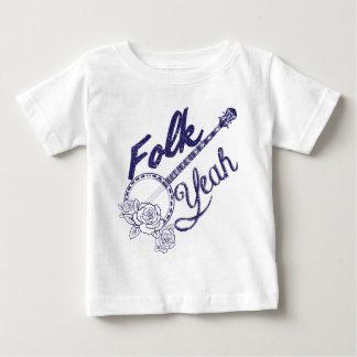 Camiseta De Bebé De Wellcoda de la gente banjo divertido de la