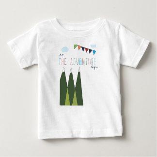 Camiseta De Bebé Deje la aventura comenzar