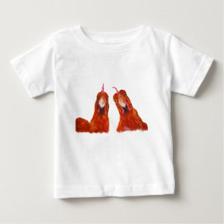 Camiseta De Bebé Del EMBAUCAMIENTO del pollo de las gallinas bebé