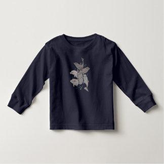 Camiseta De Bebé Delfínes juguetones