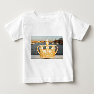 Camiseta De Bebé Detalle del puente de oro de la corona en