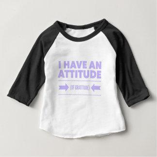 Camiseta De Bebé Detox AA de la recuperación de la gratitud de la