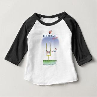 Camiseta De Bebé Día del lavado del fútbol, fernandes tony