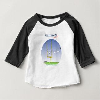 Camiseta De Bebé Día del lavado del Gridiron, fernandes tony