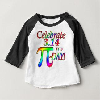 Camiseta De Bebé Día del pi