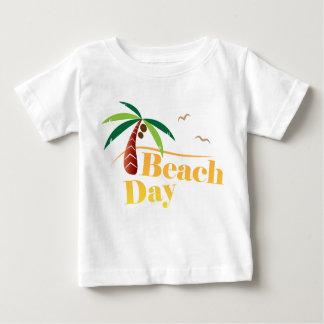 Camiseta De Bebé Día perfecto de la playa del verano
