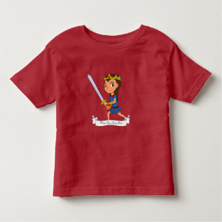 Camiseta De Bebé Dibujo animado de encargo de la princesa del