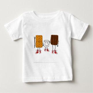 Camiseta De Bebé Dibujo animado divertido de los caracteres de