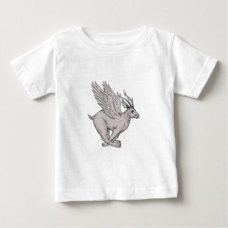 "Camiseta De Bebé Dibujo ""running side"" de Wolpertinger"