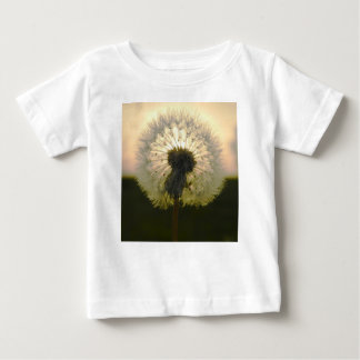 Camiseta De Bebé diente de león en el sol
