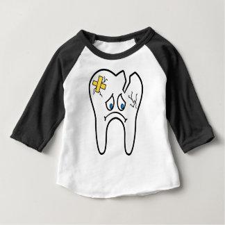 Camiseta De Bebé Diente malsano