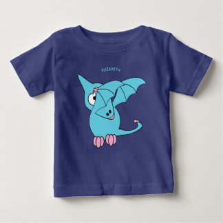 Camiseta De Bebé Dinosaurio divertido lindo del Pterodactyl que