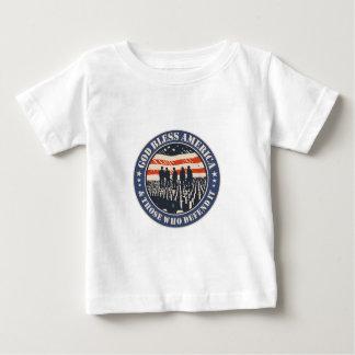 Camiseta De Bebé Dios bendice América