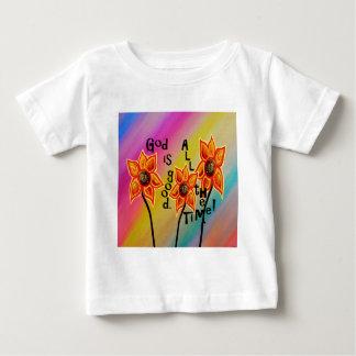 Camiseta De Bebé Dios es bueno todo el tiempo
