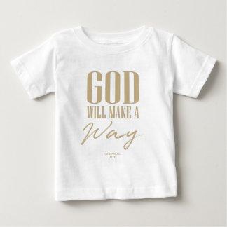 Camiseta De Bebé Dios hará una manera