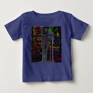 Camiseta De Bebé Diosa abstracta del acuario