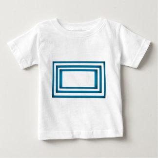 Camiseta De Bebé Diseño azul de Santorini Grecia