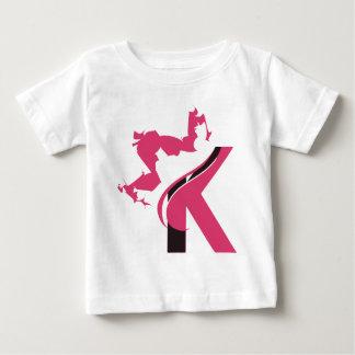 Camiseta De Bebé Diseño BMI del logotipo de la corona K