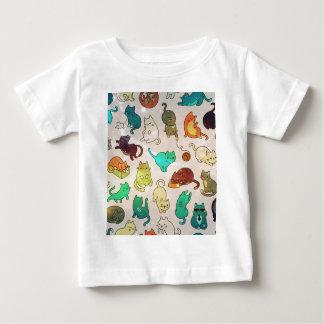 Camiseta De Bebé Diseño color de rosa de la moda del mármol del oro