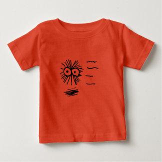 Camiseta De Bebé Diseño de la pelusa en el movimiento