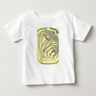 Camiseta De Bebé Diseño de mármol