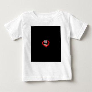 Camiseta De Bebé Diseño del corazón de la vela para el estado de