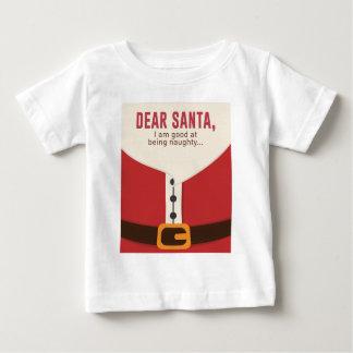 Camiseta De Bebé Diseño divertido de la estimada lista traviesa de