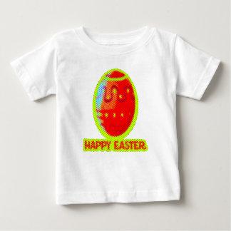 Camiseta De Bebé diseño gráfico dulce feliz de pascua