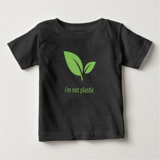 Camiseta De Bebé Diseño gráfico negro verde verde de la vida el |