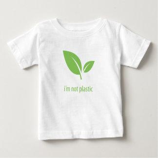 Camiseta De Bebé Diseño gráfico verde verde de la vida el |