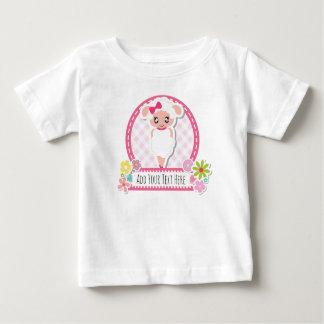 Camiseta De Bebé Diseño lindo de las ovejas para el juego de Romer