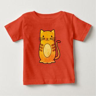 Camiseta De Bebé Diseño lindo del gato