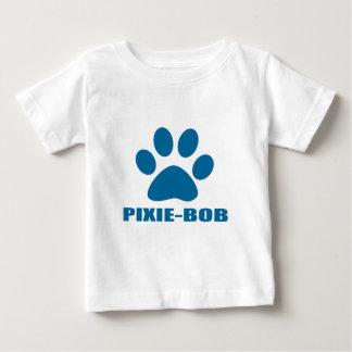 CAMISETA DE BEBÉ DISEÑOS DEL CAT DE PIXIE-BOB