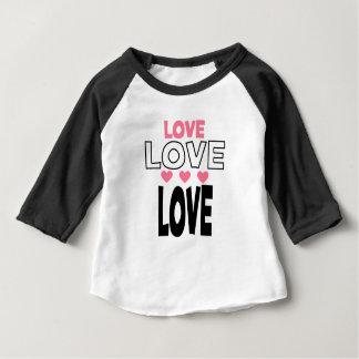 Camiseta De Bebé diseños frescos del amor