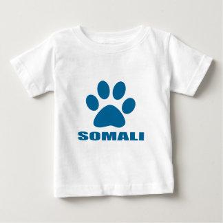 CAMISETA DE BEBÉ DISEÑOS SOMALÍES DEL CAT