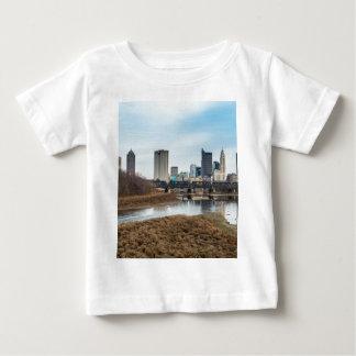 Camiseta De Bebé Distrito financiero central Columbus, Ohio