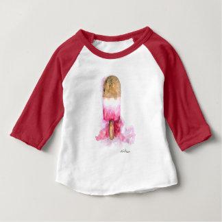 Camiseta De Bebé Diversión, chocolate del verano y Popsicle de la