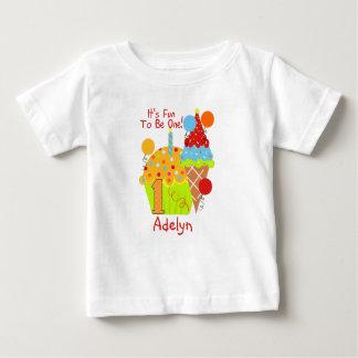 Camiseta De Bebé Diversión de las magdalenas y del helado a ser un
